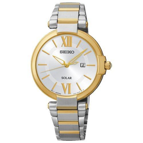 Seiko Ladies Bi-Tone Watch_0