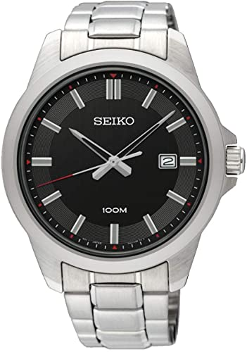 Seiko Gents Silver Watch_0