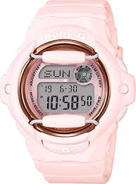 Baby-G Pink Digital Shock Resistant 200M Water Resistant EL Backlight with Afterglow World Time 5 Daily Alarms_0
