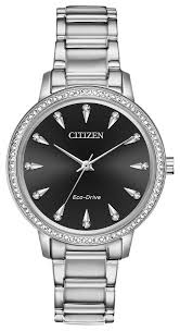 Citizen Ladies Silver Eco Drive_0