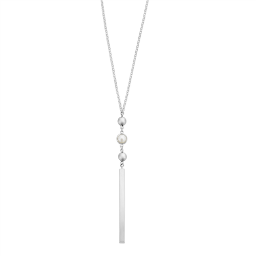 Silver Peral Necklace_0