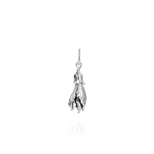 Evolve Kowhai (Happiness) silver pendant only_0