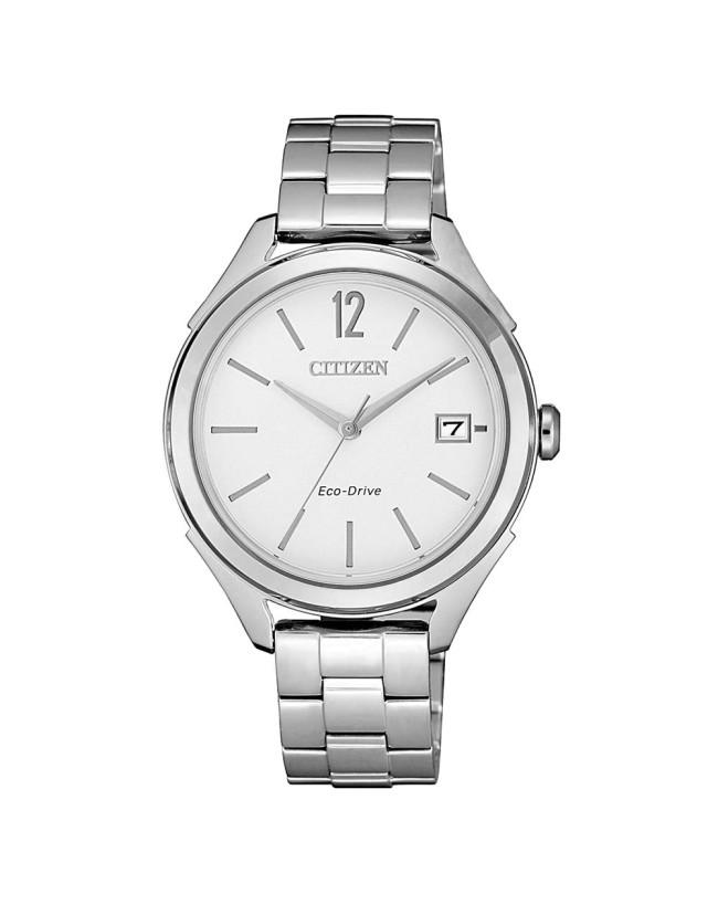 Citizen Eco-Drive Ladies Silver Analogue_0
