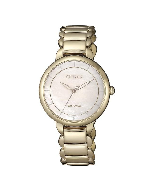 Citizen Ladies Rose Gold Eco-Drive Watch_0